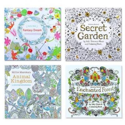 - English Adult Secret Garden Mystery Garden Treasure Hunt Coloring Painting  Book-buy At A Low Prices On Joom E-commerce Platform