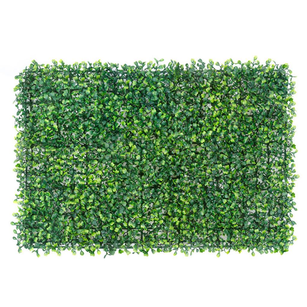 Artificial Ivy Leaf Hedge Mat Fence Fake Plant Foliage Grass Wall Outdoor Panel