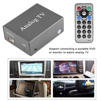 Car Mobile DVD TV Receiver Analog TV Tuner Strong Signal Box with Antenna  Remote Controller