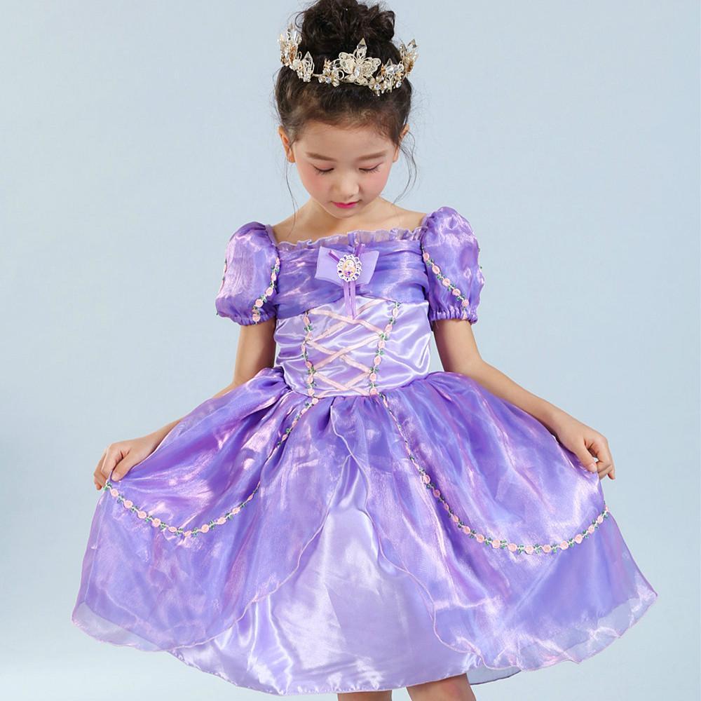 Muchacha faldas para cumpleaños que infantiles ropa princesa fiesta ...