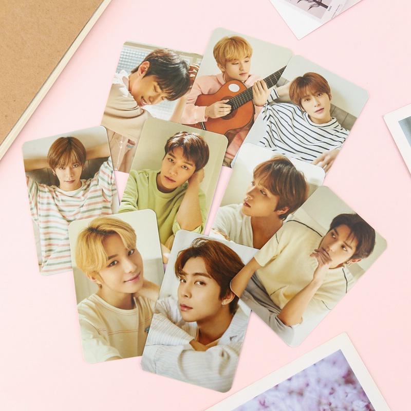 9 шт. / Компл. NCT 127 фото карта плакат ломо карты самодельные бумажные фотокарты фанаты подарочная коллекция – купить по низким ценам в интернет-магазине Joom