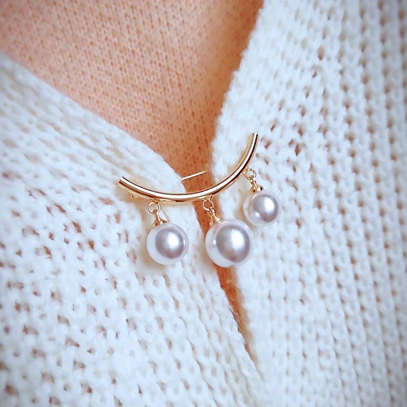 Корейский Простой Перл Cute Brooch аксессуары Kpop Броши для женщин Pins Enamel Pin ювелирных изделий – купить по низким ценам в интернет-магазине Joom