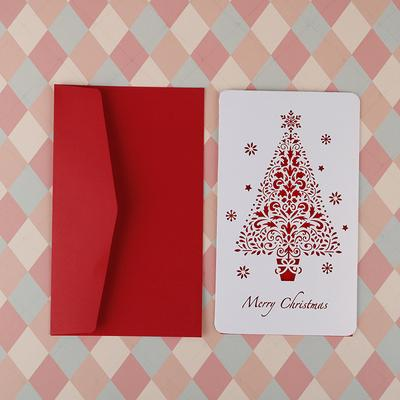 Christmas 3D Stereo Greeting Card AR Virtual Imaging Technology Fashion Gifts G