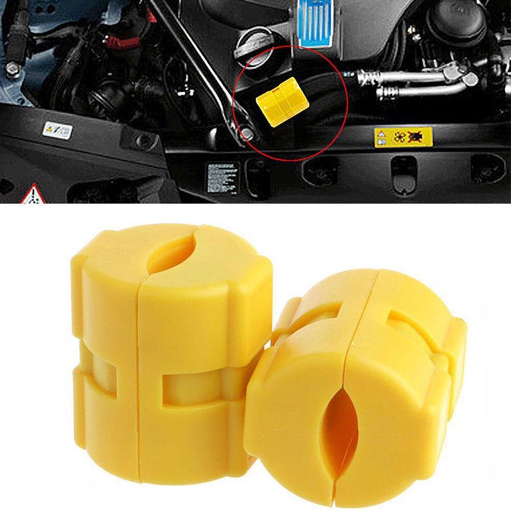 2Pcs Universal Magnetic Fuel Gas Saver For Car Motorcycles Truck Reduce Emission