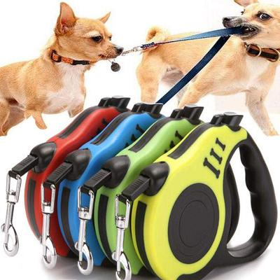 3M/5M Retractable Dog Leash Automatic Flexible Belt Dog Leash Pet Products for Small Medium Dogs