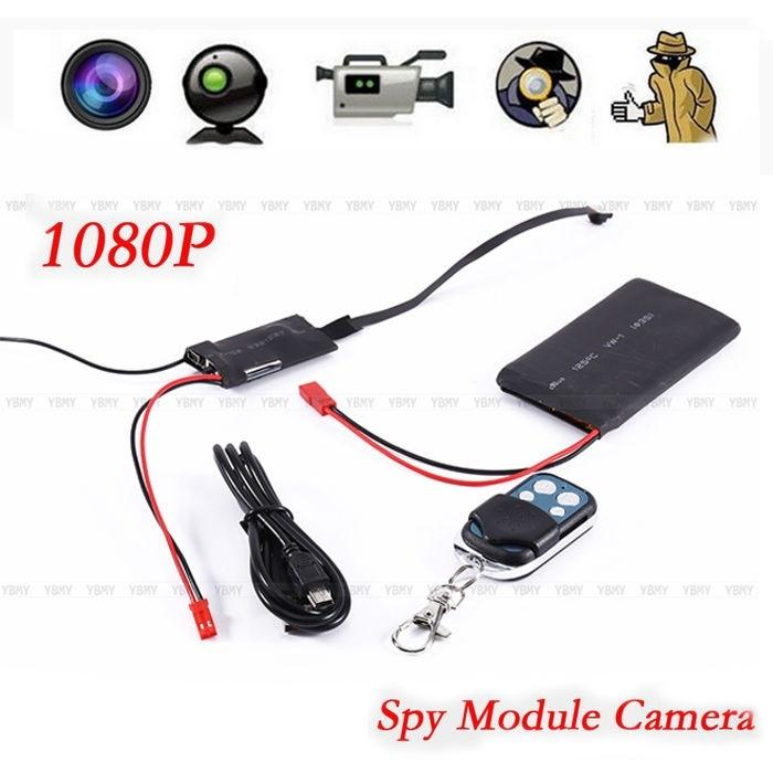 1080P HD DIY Module Camera Video Mini DV DVR Motion w// Remote Control