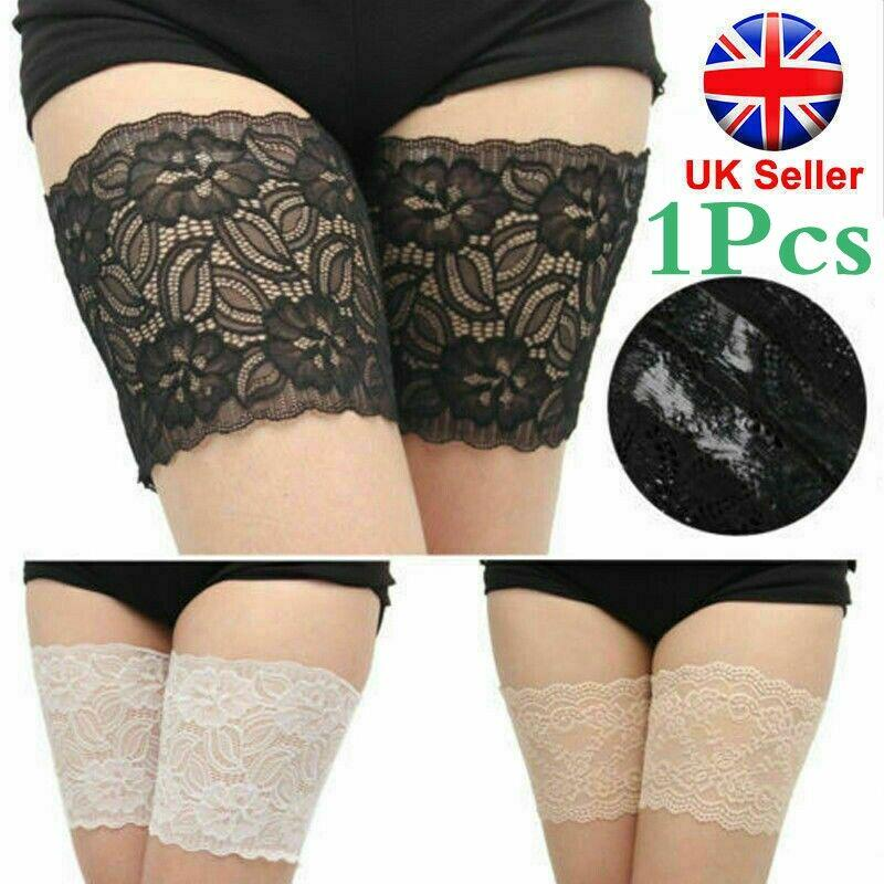 Non-Slip Lace Sock Anti-Chafing Thigh Bands Prevent Thigh Chafing for Women