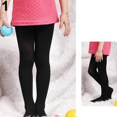 Toddler Baby Girls Ballet Pantyhose Tights Solid Kids Children Long Stocking