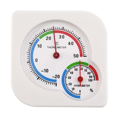 shengerm Thermometer Humidity Analog Household Thermometer Hygrometer Wall-Mounted Tester Measure Home Popular New