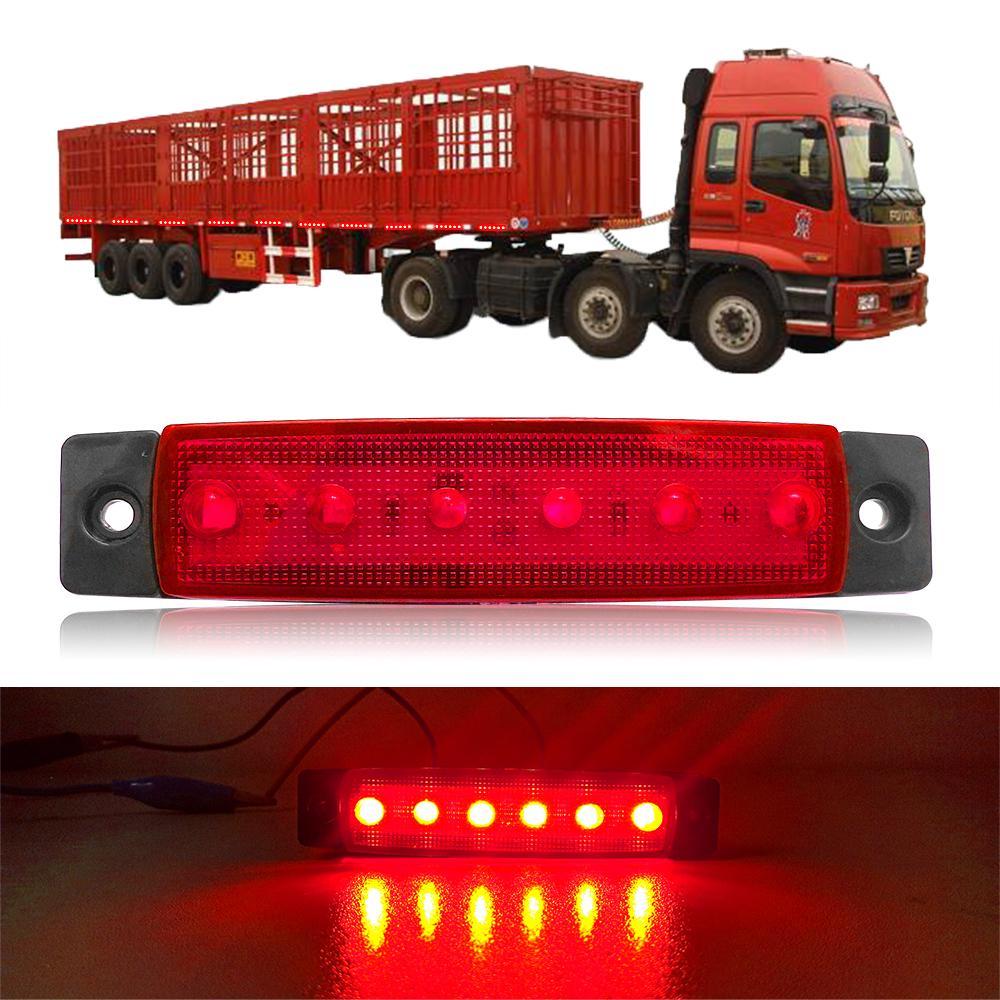 Universal Rear Fog Lamp Bracket  RED TRAILER LORRY VAN CARAVAN 12V-24V LIGHT