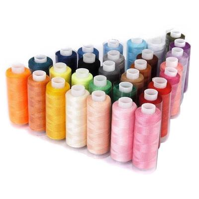 MIXED//ASSORTED PACK OF 50 THREADS 50 X 1000 yards POLYESTER THREAD