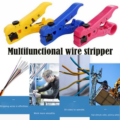 Black cable pliers wire coaxial wire strippers for wires up to 8mm in diameter