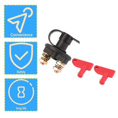 1 Pcs New 12V//24V 200A British Car Truck Boat Camper Battery Isolator Disconnect Cut Off 150A Power Kill Switch