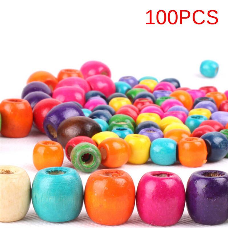 10Pcs DIY Luminous Stone Beads Craft Round Loose Beads With Hole Jewelry Gifts
