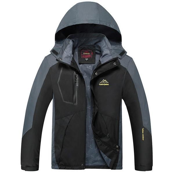 b8d853808 Chaqueta impermeable al aire libre moda otoño alpinismo lluvia deporte de  pesca cazadora