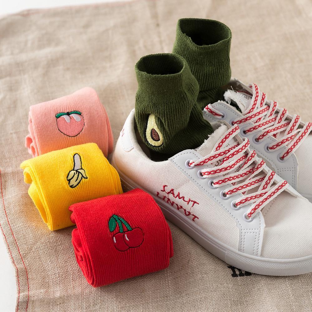 Women/'s Girls Kawaii Print Novelty Funny Socks Ladies Winter Warm Cotton Socks