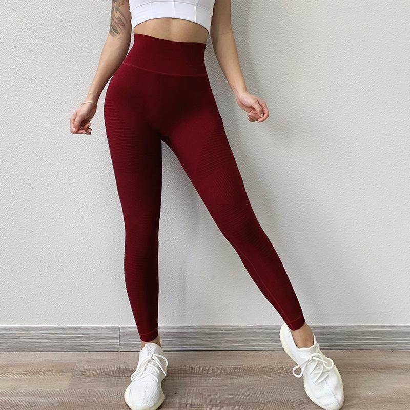 Womens Fitness Leggings High Waist Training Gym Seamless Sports Yoga Pants