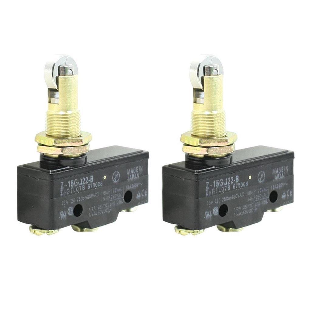 B3 AC 250V 15A SPST 2 Position On//OFF Toggle Switch 2 Pcs