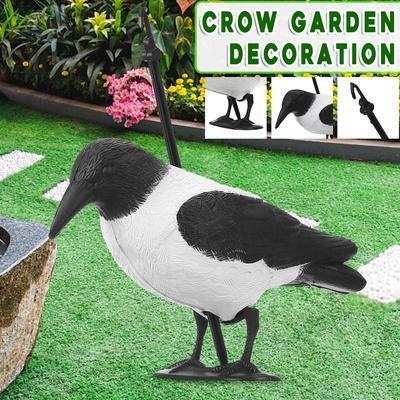 36cm Garden Decoration Artificial PE Blow Molding Magpie Courtyard Landscape
