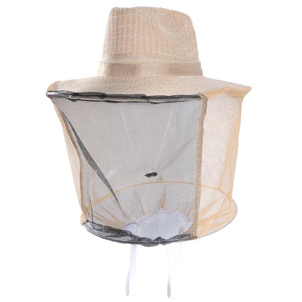 Mosquito Bug Bee Insect Repellent Mesh Net Protective Cowboy Hat ... 28729b7b2436