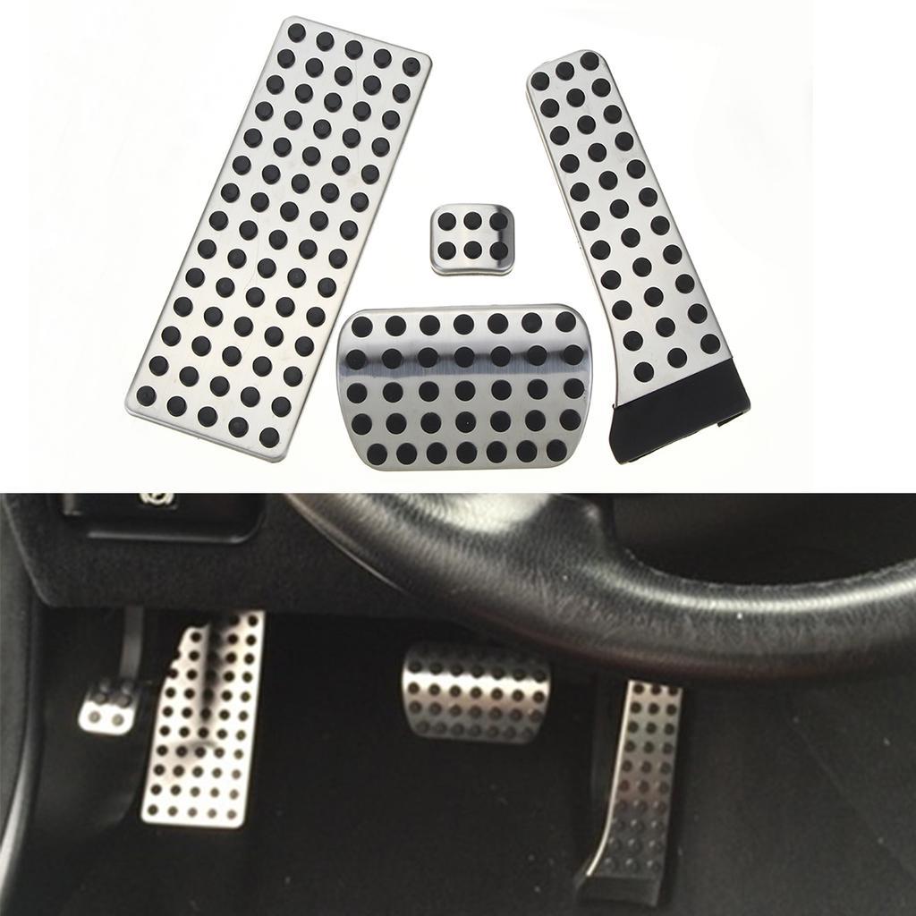 FLJKCT Brake Clutch Pedal Accessories,for Mercedes Benz C Class W205 C180 C200 C250 C300 C350 C400 C450
