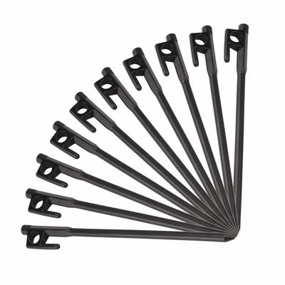 Camping Snow Tent Peg Canopy Practical New Outdoor Cast Iron Black Hiking Awning