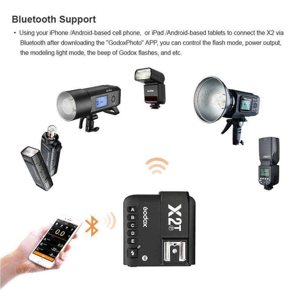 Godox X2T-P 2.4G TTL Wireless Flash Trigger for Pentax Cameras