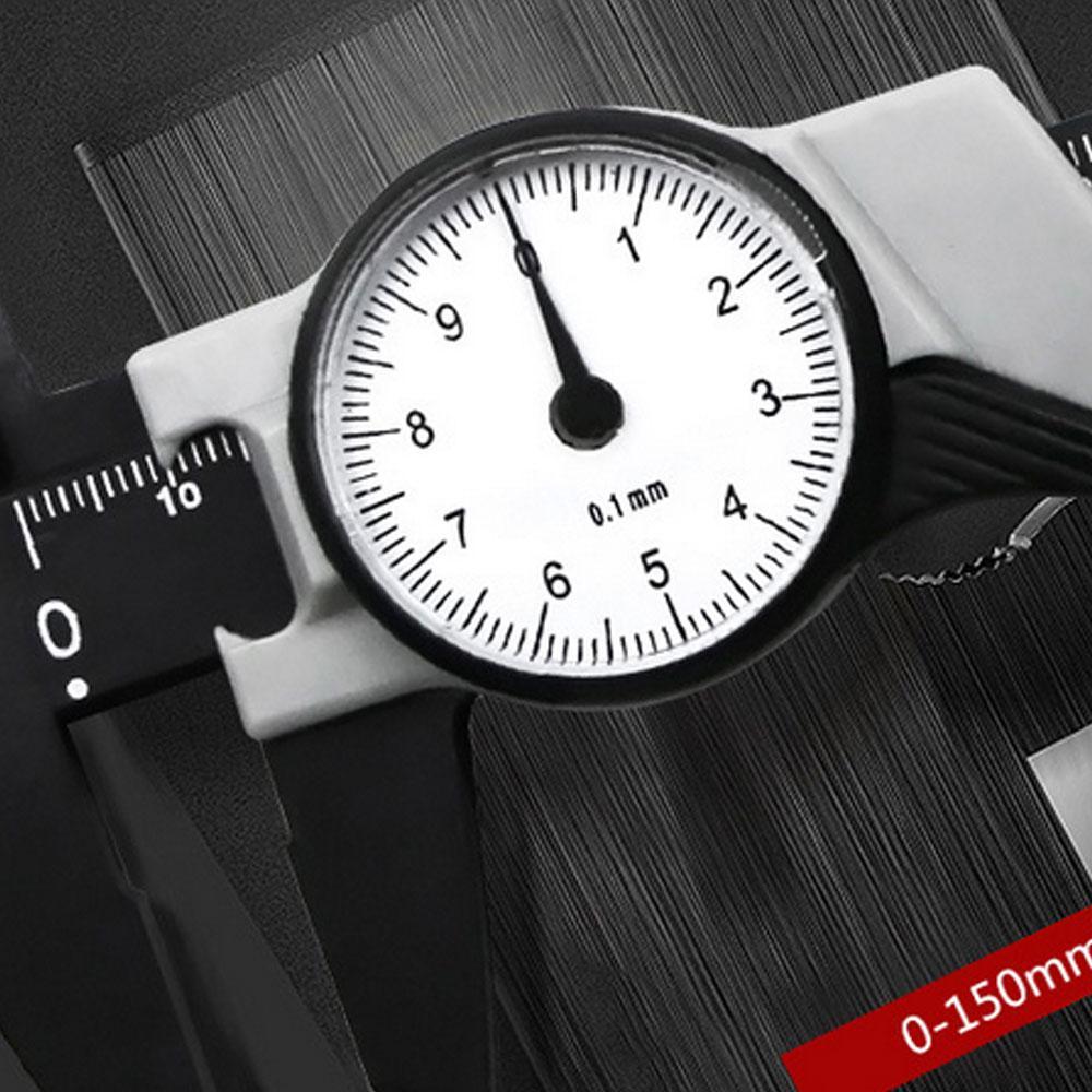 225mm Plastic Vernier Caliper Measure Tool Gauge Ruler Accurate Measurement vfg