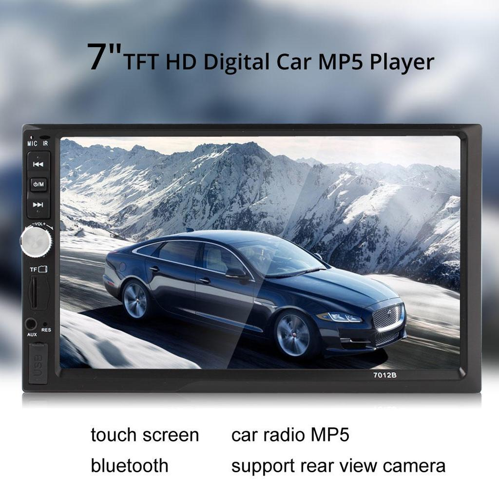 Car mp5 player 7 inch bluetooth tft screen car audio stereo 12V auto 2 din