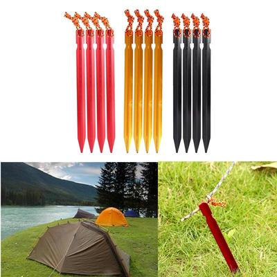 21.7 x 14.4cm tent pegs bag camping tent hammer wind rope tent nail storage WRDE