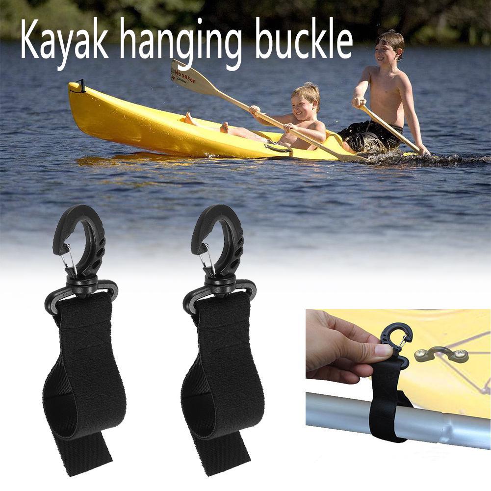 2pcs Kayak Paddle Clip Kayak Rudder Canoe Boot Paddle Clip Boating