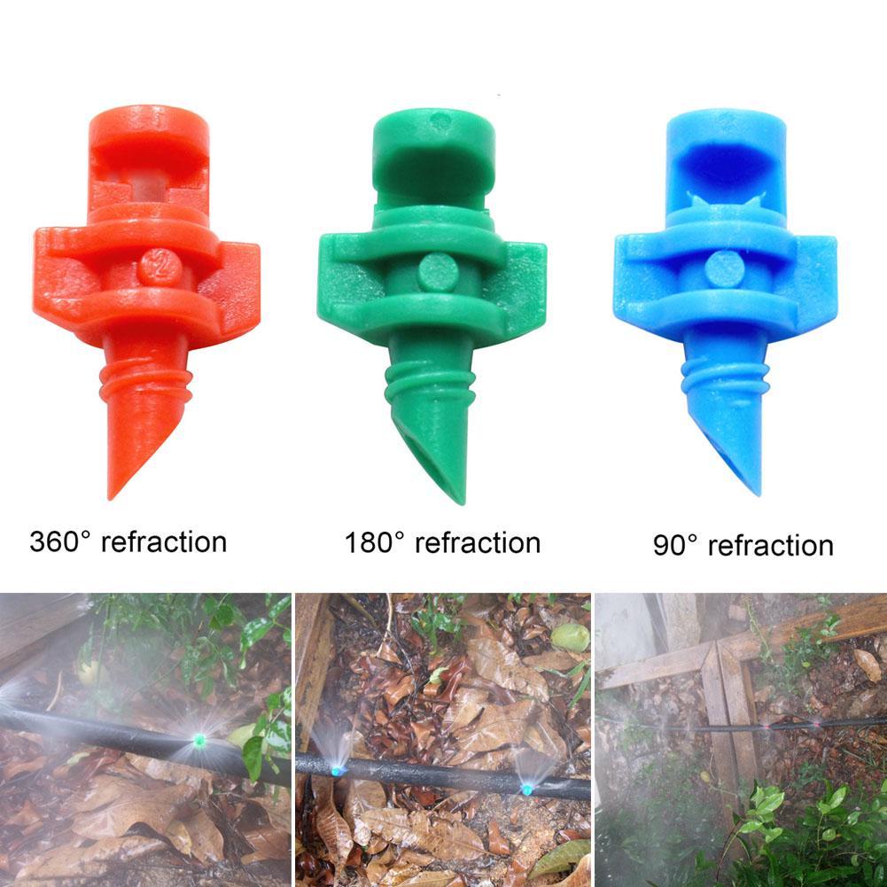 Adjustable Micro jet sprinklers Irrigation 180 degree AEROPONICS HYDROPONICS
