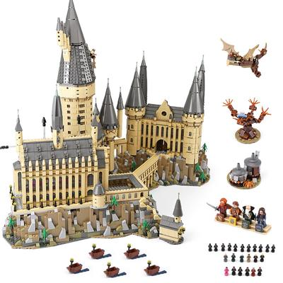 Harri Poudlard Potter Great Hall Express Castle 75954 926PCS Modélisme