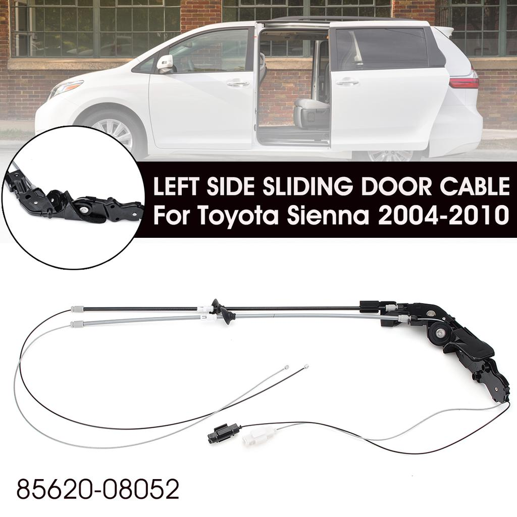 Pair Rear Left+Right Exterior Door Handle For Toyota Sienna 2004-2010