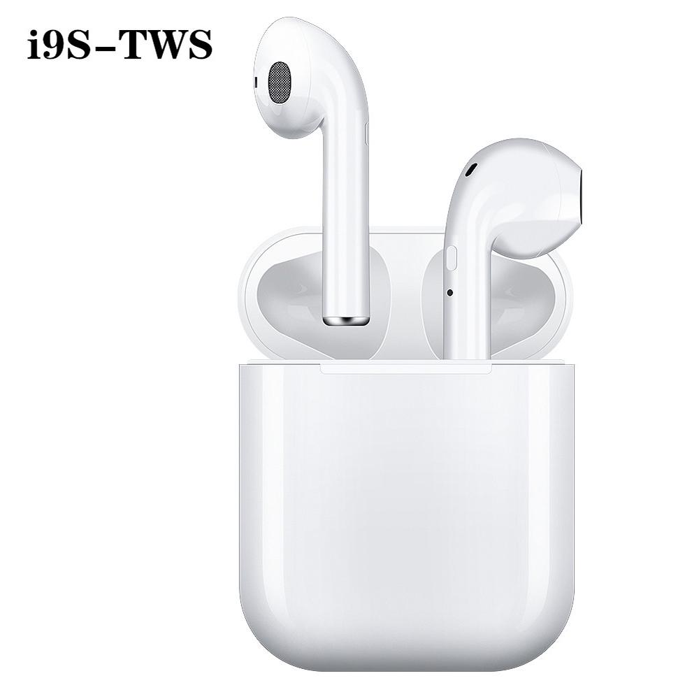 I9s Tws наушники Беспроводной Bluetooth 5.0 Earphone Мини Earbuds зарядки Box Box Спортивная гарнитура для телефона – купить по низким ценам в интернет-магазине Joom