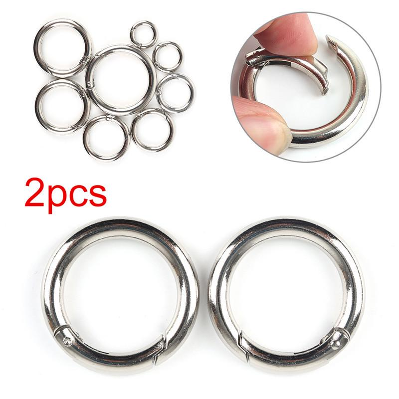 2pcs Bag Clasps Lobster Swivel Trigger Clips Snap Hook 45mm Strapping Strong