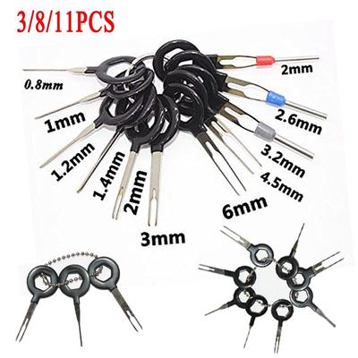 8Pcs Terminal Removal Tools Electrical Wiring Crimp Connector Pin Extractor