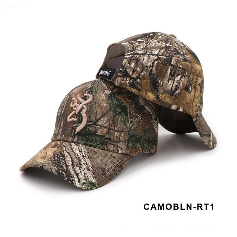Camo Baseball Cap for fishing hunting and camping