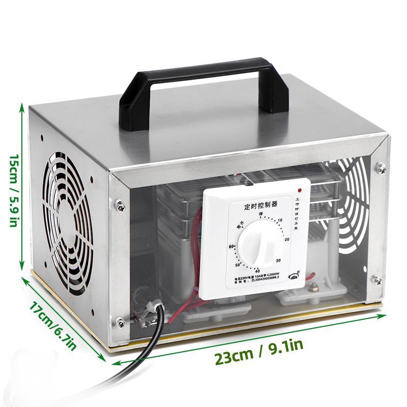 35000mg//h Commercial Ozone Generator Air Purifier Sterilizer Ozonizer 35g 110V
