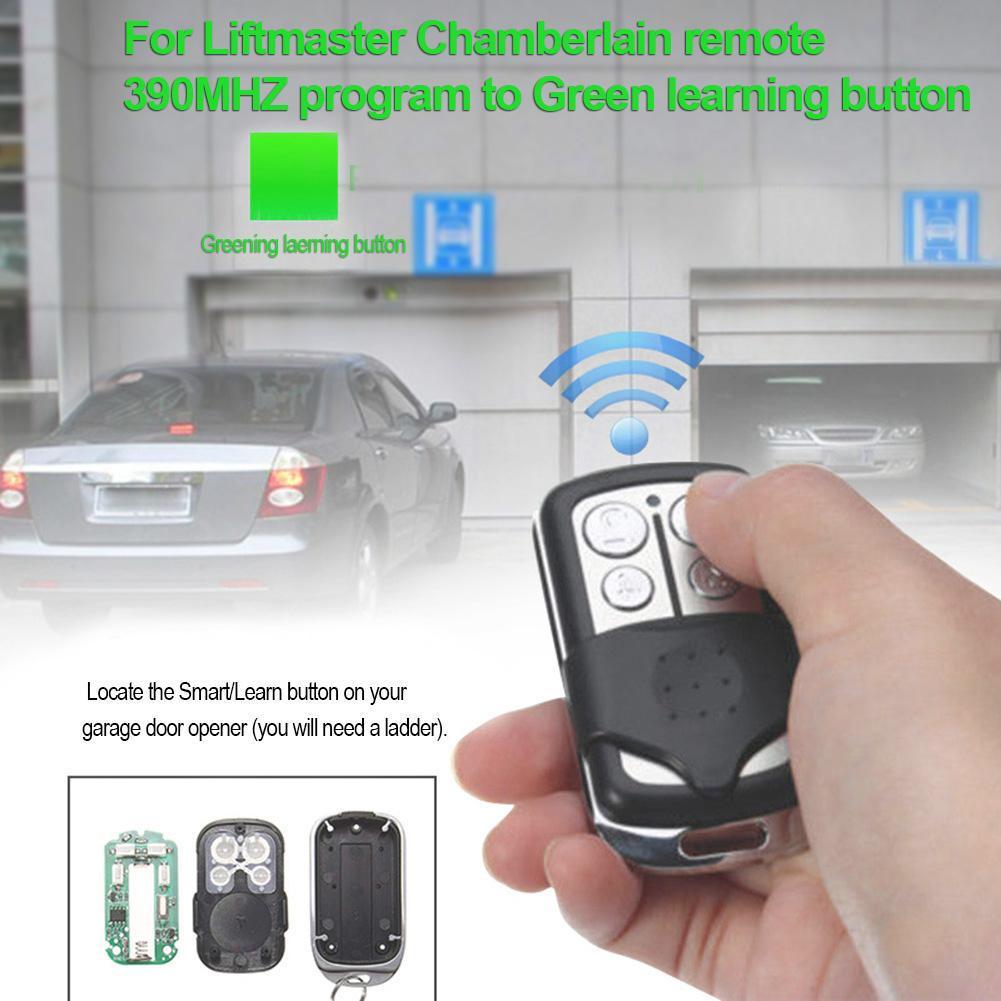 Chamberlain 853CB 856CB Garage Door Opener Visor Remote Transmitter