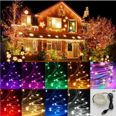 5-20M LED Fairy String Lights Copper Wire Battery Christmas Xmas Outdoor Party
