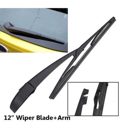 Rear Wiper BE8Z-17526-C Windscreen Window Wiper Arm and Blade Set for Fiesta 2011-2013