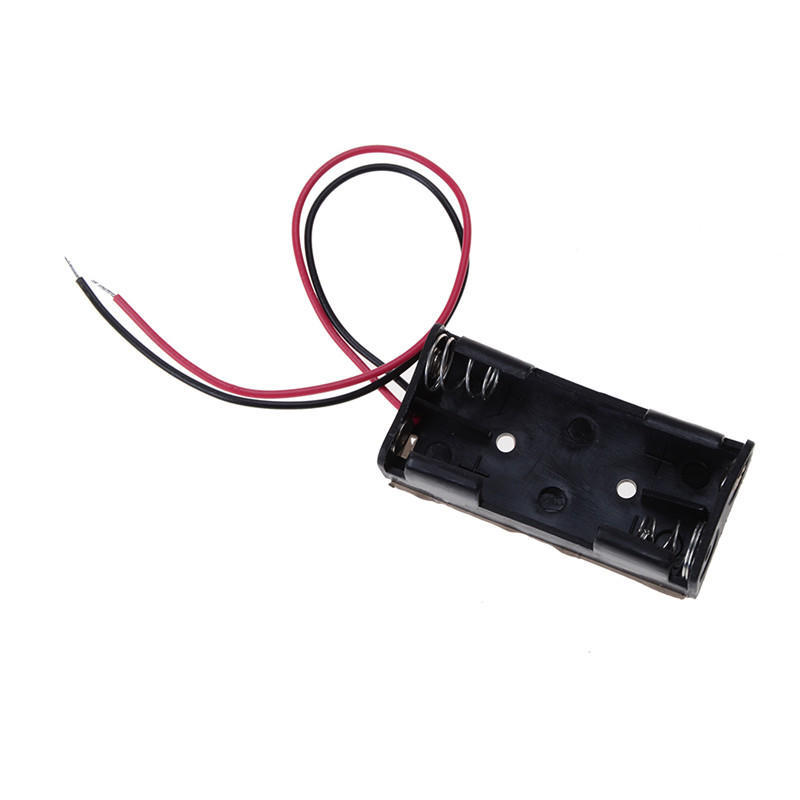 Diy AA//AAA//18650 Receiver Battery Pack Case Box Connector Insert Compartment ATA