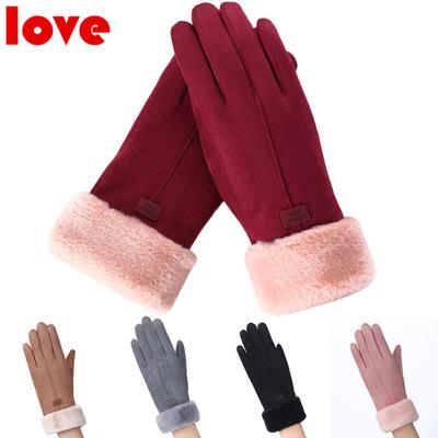 Belle Chaud Hiver Mitaines femmes Mesdames main poignet NEUF