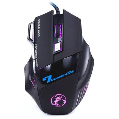 Hot 6D Wired LED Optical USB 3200 DPI Pro Gaming Game Mouse Mice For Laptop PC