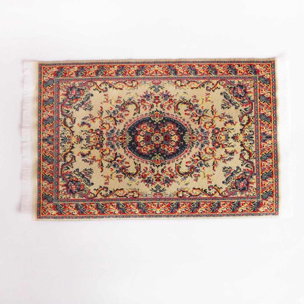 1:12 Dollhouse Miniature Oblong Area Rug//Carpet//Mat Floor Covering DIY Kits