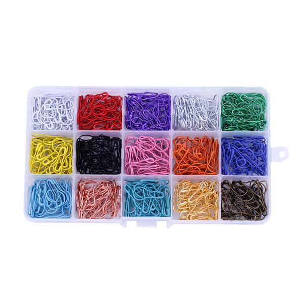 Metal Safety Pins Gourd Bulb Shape Pins Clips For Quilting Sewing Knitting Craft