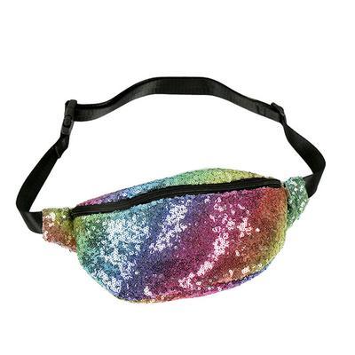 d572f2c24d Femmes taille Packs Rainbow paillettes sac banane ceinture sac ceinture  holographique sac sac banane