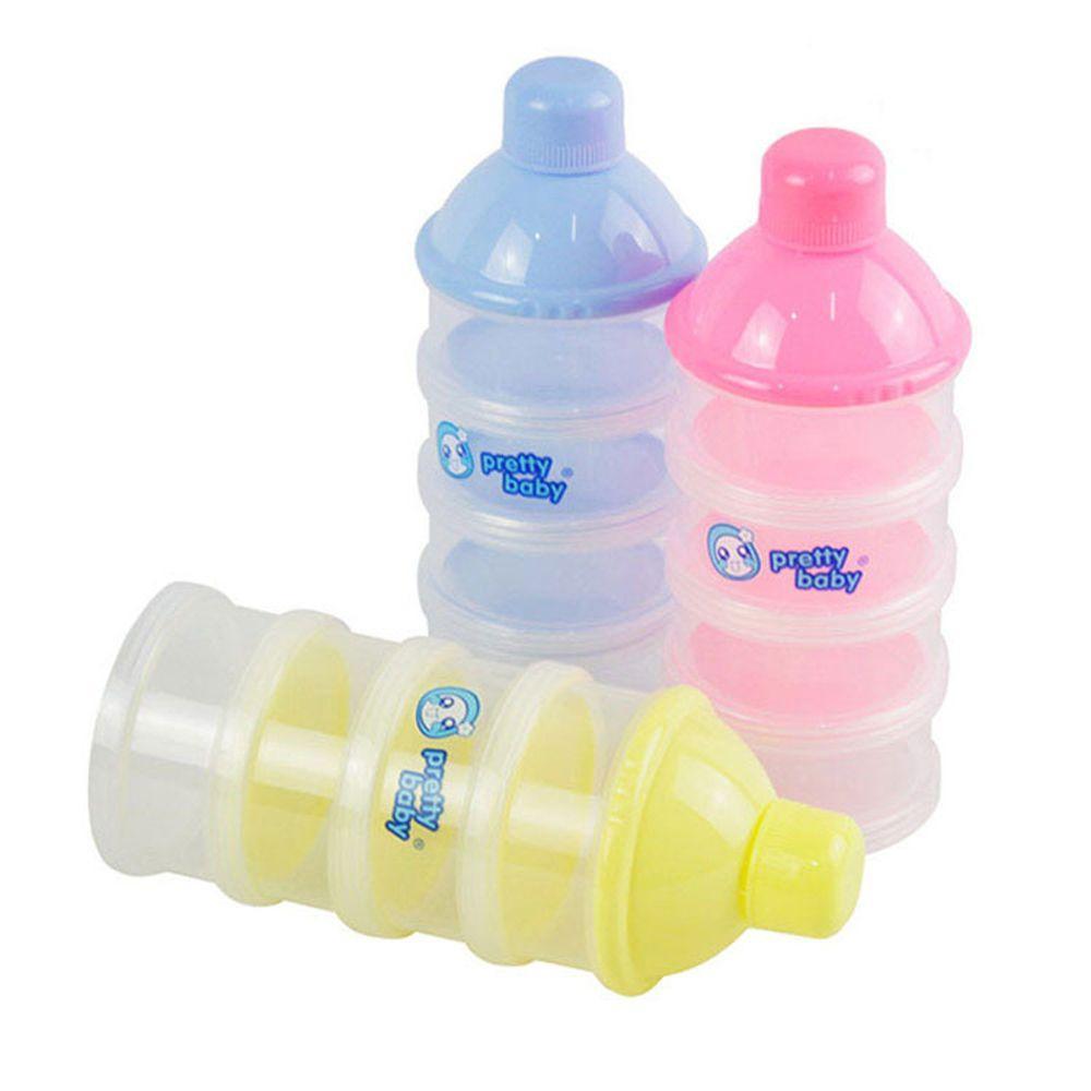 3 Schichten Tragbare Tier Kopf Cartoon Milch Pulver Formel Dispenser Bunte Infant Fütterung Lebensmittel Container Baby Lebensmittel Lagerung Box Mutter & Kinder Flaschenzuführung
