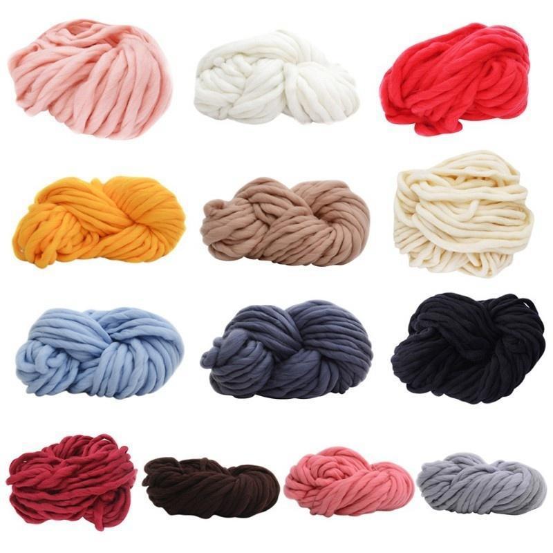 BRICOLAJE lana grueso suave hilado abultado brazo tejido lana ...